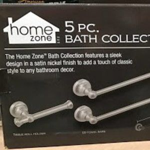 Home Zone 5-Piece Bath Collection